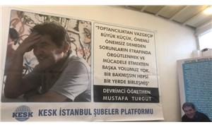 Devrimci öğretmen Mustafa Turgut, ölümünün 3.yılında Kadıköy'de anıldı