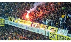 Kadıköy'de stad 'damat istifa' sloganıyla inledi