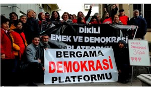AKP'li Bergama Belediyesi'nde işten çıkartmalar protesto edildi