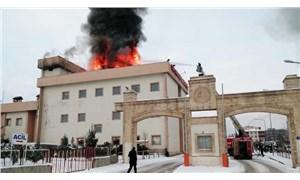 İdil Devlet Hastanesi'nde yangın