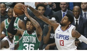 İki uzatmalı maçın galibi Boston Celtics
