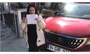 İstanbul'da çekicinin düşürdüğü kadın bir de park cezası ödeyecek!
