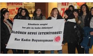 Nar Kadın Dayanışması'ndan 14 Şubat eylemi: Öldüren sevgi istemiyoruz