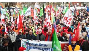 Almanya'da eylem günü