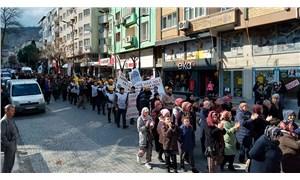 Soma'da eylem yapan madenciler Meclis'e seslendi: Verdiğiniz sözleri tutun!