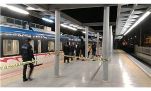 İzmir'de metro hattına atlayan kişi yaşamını yitirdi