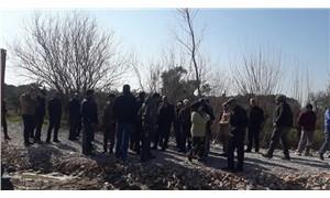 JES çalışanları köylülere saldırdı