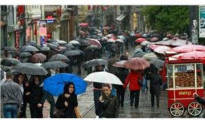 Türkiye yağışlı ve serin havanın etkisi altına giriyor