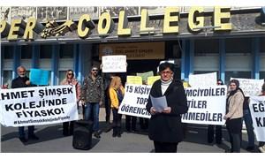 Ahmet Şimşek Koleji velileri: Özel eğitim sistemi çöktü