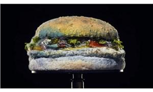 Burger King'den 'Küflü hamburger' reklamı