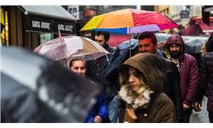 İstanbul'da yağmur zamanı