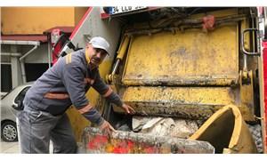 Şişli'de çöp kamyonuna atılan çöplerin içinden bebek çıktı