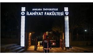 Ankara Üniversitesi İlahiyat Fakültesi'nde yangın çıktı