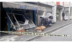 Beyoğlu'nda iş yerinde patlama: 1 kişi yaralandı
