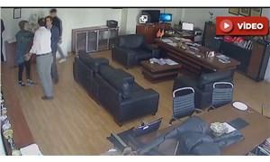 Okul müdürünün odasında öğrenciye saldırı