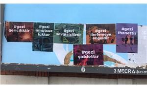 İstanbul'un çeşitli semtlerine Gezi Direnişi'ni karalayan afişler asıldı