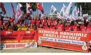 İşten atılan Kale Pratt işçilerine destek: Bu adaletsizliklere karşı direnmek haktır