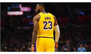 LeBron James bu sezon en yüksek skoruna ulaştı
