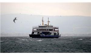 Ulaşıma fırtına engeli: Feribot seferleri iptal edildi