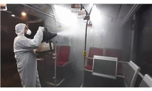 """İstanbul'da metrobüs ve duraklarda 'koronavirüs"""" önlemi"""