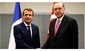 Erdoğan ve Macron'dan İdlib görüşmesi