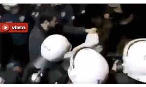 Skandal görüntüler: Gözaltına alınan kadın 'şiddet koridoru'ndan geçirildi!
