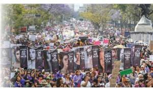 Meksika'da kadınlar greve gitti