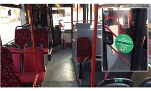 İzmir'de toplu ulaşımda 'yeşil koltuk' uygulaması başlatıldı
