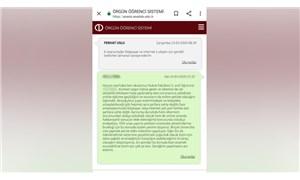 Online sınavlarla ilgili çekincelerini dile getiren öğrencilere skandal cevap