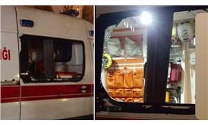 İstanbul'da koronavirüs vakasına giden ambulansa saldırı!
