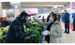 İzmir'de koronavirüse karşı dayanışma büyüyor