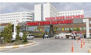 YozgatŞehir Hastanesi'nde normal hasta kabulü durduruldu