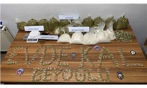 Beyoğlu'nda 1,5 milyon liralık uyuşturucu operasyonu