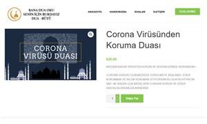 Şarlatanlar iş başında: Koronavirüs duası 20 TL