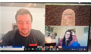 Video konferans uygulamasında filtreyi kapatamayan patron, toplantıya patates olarak katıldı