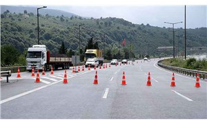 Anadolu Otoyolu'nda 2 gişe  trafiğe kapatıldı
