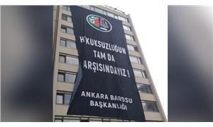 Ankara Barosu: Hesaplara bloke koymak hukuksuzluk