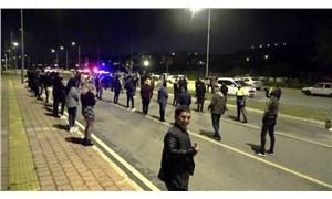 Antalya'da dansözlü drift partisi: Polis baskın yaptı