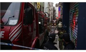 Beyoğlu'nda yangın: 1 kişi yaşamını yitirdi
