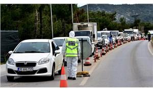 Bodrum'a 25 günde 125 bin araç giriş yaptı