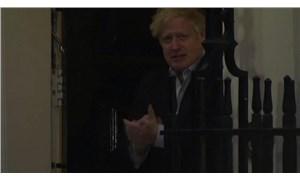 Koronavirüse yakalanan Boris Johnson ilk defa görüntülendi