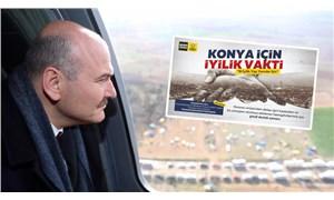 Soylu başka, AKP'li belediye başka konuştu: Konya'da toplanan bağış paralarına ne oldu?