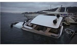 Beşiktaş'ta lüks tekne battı