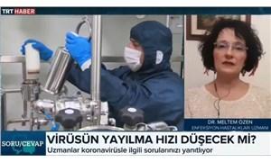 TRT'ye bağlanan doktor: Türkiye'de vaka sayısı 600 ila 900 bin...