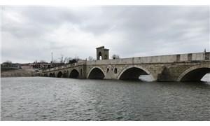 Yağışlar Edirne'deki nehirlerin debisini yükseltti