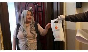 65 yaş üstüne kolonya ve maskeler, Erdoğan imzalı poşet ve mektupla dağıtıldı