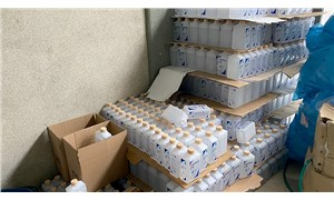 Balıkesir'de 5 bin 993 litre sahte dezenfektan ele geçirildi