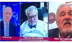 Prof. Dr. Celal Şengör canlı yayında uyuyakaldı
