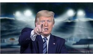 Trump uzaya göz koydu