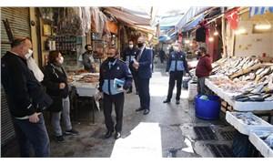 Konak'ta konoronavirüs önlemleri: Havra Sokağı'nda sıkı denetim